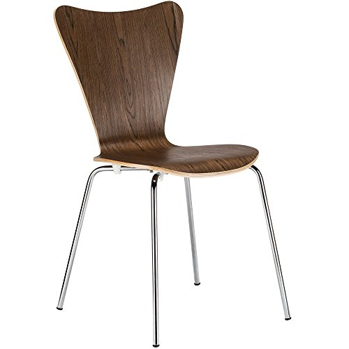 Poly and Bark Elgin Side Chair in Walnut