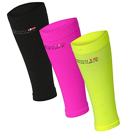 danish-endurance-fasce-di-compressione-per-polpacci-neon-giallo-medium