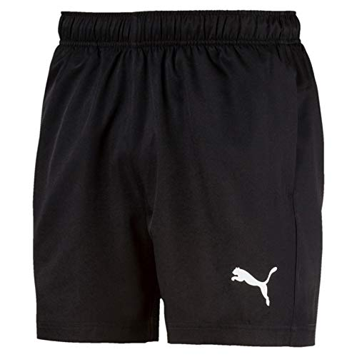 PUMA Herren Active Woven Short 5` Hose, Black, L