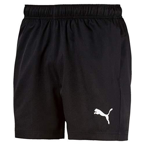 PUMA Herren Active Woven Short 5` Hose, Black, XL