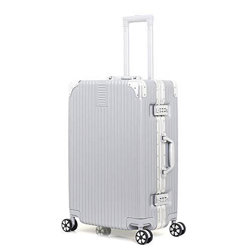Hard Case Trolley Reisetrolley Robustes Gepäck wasserdichtes ABS-Material mit Schloss und 4 Rädern 20 Zoll, 22 Zoll, 24 Zoll, 26 Zoll Handgepäck-4-24inch