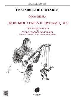 Mouvements Dynamiques (3) --- 4 Ou 10 Guitares par Bensa Olivier