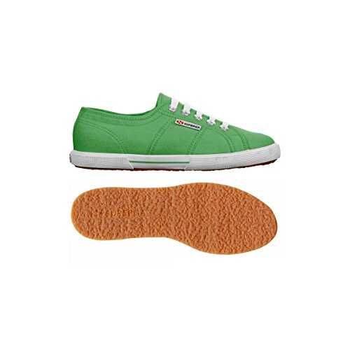 Superga  2790 Acotw, Baskets  mixte adulte Vert - Vert île