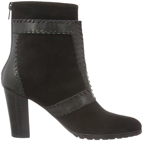 Giudecca Damen Jy16s15-620 Kurzschaft Stiefel Schwarz (Black)