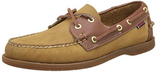 Sebago Endeavor, Chaussures Bateau Homme Marron (Tan Nubuck/leather)