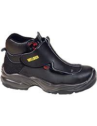 Giasco hr066d39Ercolano botas de cordones S3negro