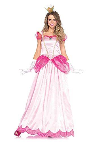 Peach Erwachsene Princess Für Kostüm - Leg Avenue 85461 - Klassische Pink Princess Kostüm, Größe Small (EUR 36)
