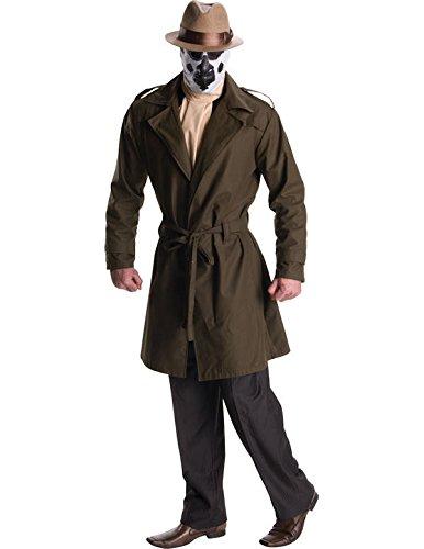 (Rubie's Watchmen Rorschach Deluxe Kostüm für Herren, Größe:XL)