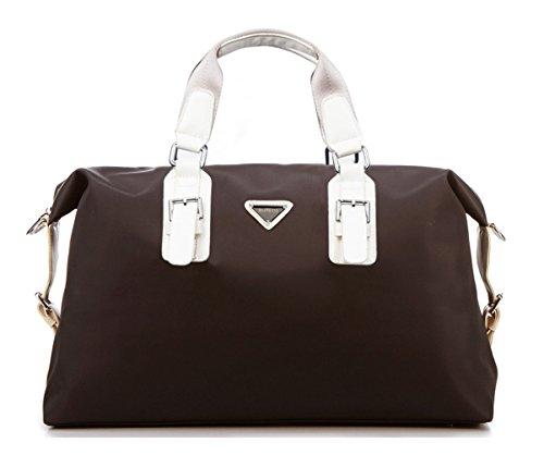 Keshi Nylon neuer Stil Damen Handtaschen, Hobo-Bags, Schultertaschen, Beutel, Beuteltaschen, Trend-Bags, Velours, Veloursleder, Wildleder, Tasche Grau