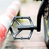 Ting-Times 1Pair MTB Pedal Aluminum Alloy Bicycle Bearing Pedal Mountain Bike Pedals Road Bike Pedals Aluminum Alloy Foldable Bike Bicycle Pedals Foldable