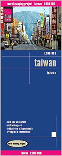 Reise Know-How Landkarte Taiwan (1:300.000): world mapping project
