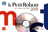 Le Petit Robert de la Langue Française 2011