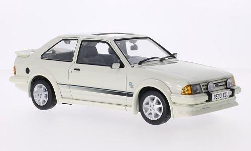 Ford Escort MkIII RS Turbo, weiss, RHD, 1984, Modellauto, Fertigmodell, Sun Star 1:18 (Ford Turbo Escort)