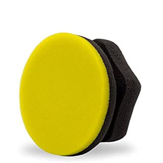 Adam's Yellow Waxing Hex Grip Applicator by Adam's Polishes