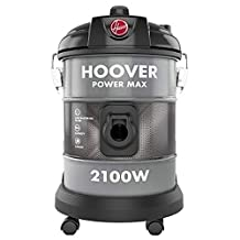 Hoover Powerforce Tank 2100W Vacuum Cleaner Silver, 20 Liters, HT87-T2-ME
