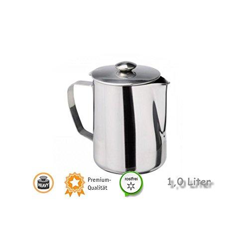 Kerafactum® – Verseuse Pot pour thé ou café 1,0 L Inox