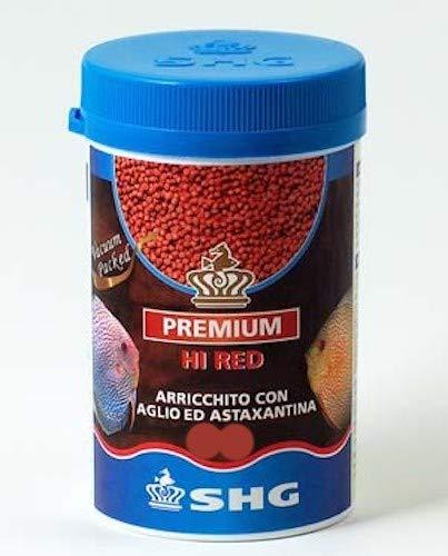 SHG Hi Red 50 gr mangime per Discus