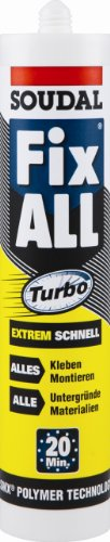 SOUDAL FIX ALL TURBO | Hybrid Polymer Klebstoff | Inhalt: 290ml