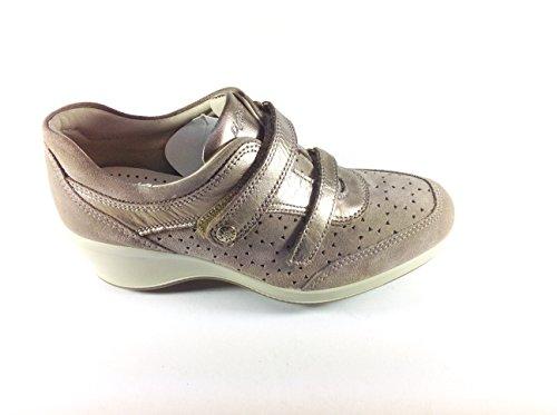 Imac , Chaussures de ville à lacets pour femme Beige Beige Beige - Beige
