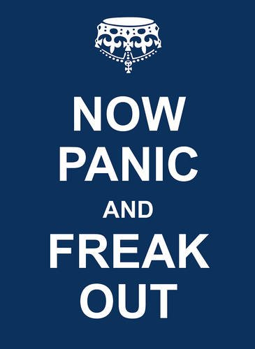 Now Panic and Freak Out Cover Image
