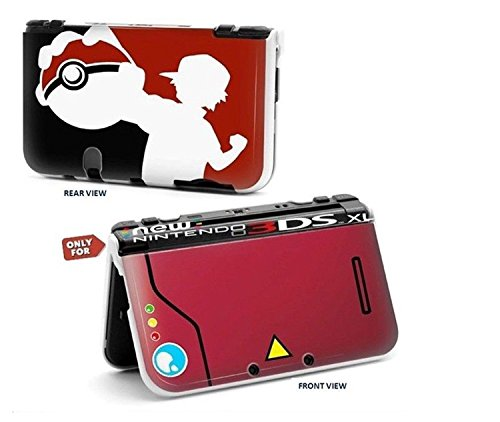 Cartoon Pikachu Pokemon World Hard Protective Case Cover For Nintendo New Style 3DS XL (Pokemon 3ds Xl Cover)