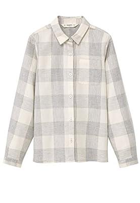 MANGO KIDS - Check cotton shirt
