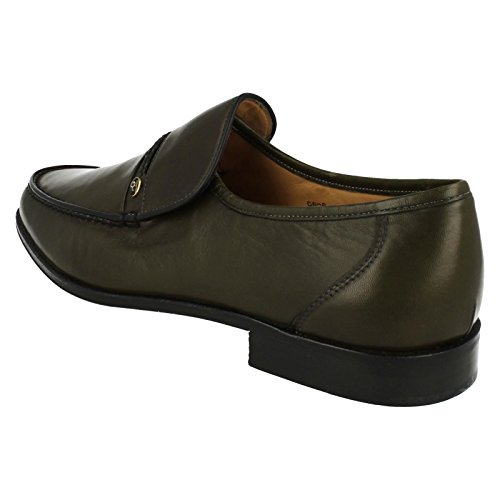 Chaussons mocassins pour homme Amos Grenson Vert - Olive