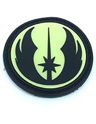 Star Wars Order Of The Jedi Brillan en la Oscuridad PVC Airsoft Velcro Patch