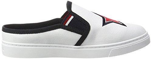 Tommy Hilfiger V1285enus 9d1, Sneakers Basses Femme Blanc (White 100)