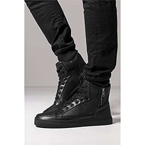 Zipper High Top Shoe black 41