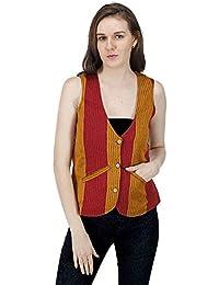 DRAP Self Design Cotton Jacket