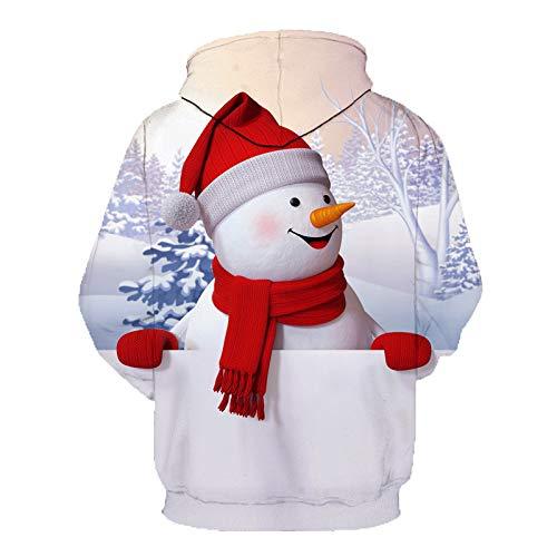 Christmas Sweater Herren Damen Unisex UFODB Männer Weihnachten -