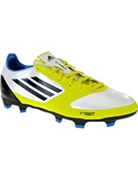 newest 4761c d9736 adidas F30 II TRX Fg White Black Lime Soccer Futball Cleats Boots Men Shoes