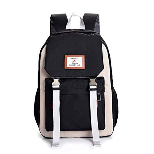 ksack, Schultasche Schulrucksack Backpack Canvas Rucksack Kinder Kleinkinder Studenten Bookbag Lässiger Tagesrucksack Laptop Rucksack Outdoor Reisetasche ()