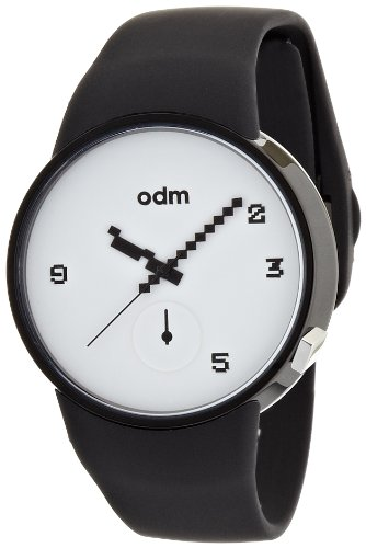 odm-studio-unisex-quartz-watch-with-white-dial-analogue-display-and-black-silicone-strap-dd134-02