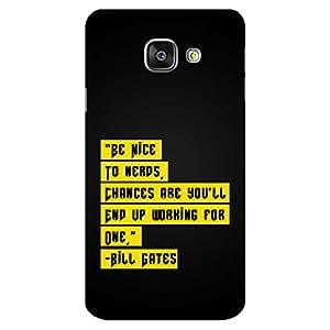 Mobo Monkey Designer Printed Back Case Cover for Samsung Galaxy A3 (6) 2016 :: Samsung Galaxy A3 2016 Duos :: Samsung Galaxy A3 2016 A310F A310M A310Y :: Samsung Galaxy A3 A310 2016 Edition (Bill Gates :: Microsoft :: Nerds :: Nerdy :: Quotes)
