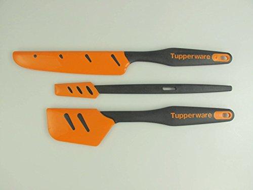 TUPPERWARE Griffbereit Top-Schaber D167+Kleiner Top-Schaber+Silikon-Palette D173
