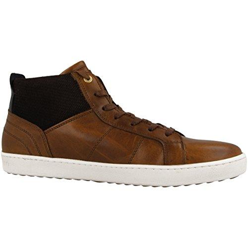 Pantofola d'Oro Herren Canaverse Uomo Mid Hohe Sneaker Braun (Tortoise Shell)
