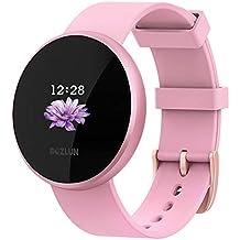 Reloj Inteligente BOZLUN para Mujeres con Monitor de Actividad física, Monitor de Ritmo cardíaco con