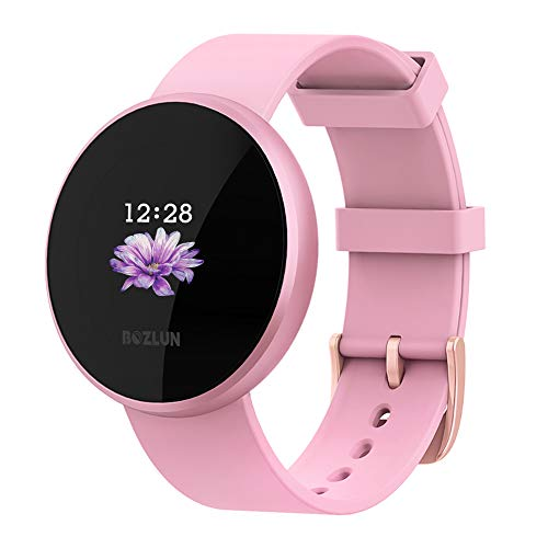 Smart Watches for Women,Activity Tracker Heart Rate Monitor SMS&SNS Reminder,Smart Watches with Color Screen,IP68 Waterproof Auto Wake Screen Smartwatches for Men Women