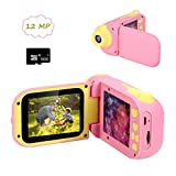 Cocopa Kids Camera 12 MP Digital Camera for Girls 16 GB Card Included