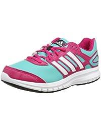 sports shoes 2e69b f0dcd adidas Duramo 6 Syn K - Scarpe da corsa, colore Verde MentaRosa