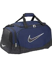 Nike BRASILIA 5 SMALL DUFFEL/GRIP - Bolsa de fitness para hombre - tamaño: misc, color: midnight navy/black/(black)