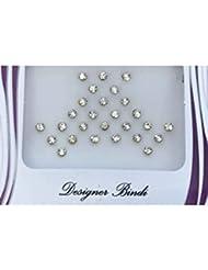BIN243 Designer Pack d'or et / tatouages Silver Stone Bindi Bollywood Stickers Indian Bindi