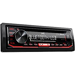 JVC KD r792bt Récepteur Bluetooth avec fonction mains-libres et audiostraming CD Noir