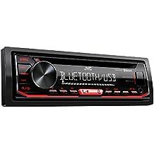 Jvc r792bt Receptor de CD con Bluetooth de Manos Libres y Retransmisión Negro