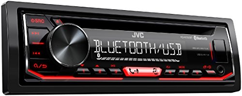 JVC KD-R792BT CD-Receiver mit Bluetooth-Freisprechfunktion und Audiostreaming schwarz - Audio-pioneer-cd Car