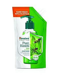 Himalaya Pure Hands   Purifying Tulsi Hand Wash Refill - 750 ml