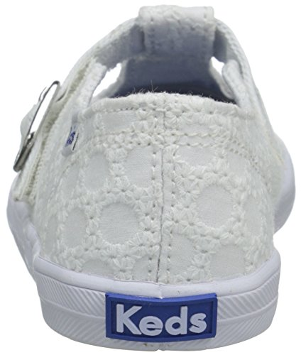 Keds T Strappy Filles Velcro baskets white