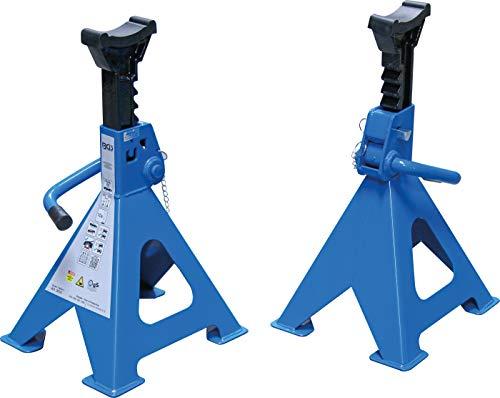 BGS 3016 | Unterstellböcke | Traglast 6000 kg / Paar | Hub 382 - 600 mm | 1 Paar | verstellbar | inkl. Gummiauflage